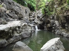 ayuhulalo waterfall