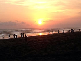 sunset parangtritis